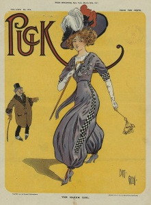 442px-The_Harem_Girl_-_Bert_Green_for_Puck_magazine,_29_March_1911
