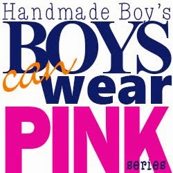 boys wear pink button